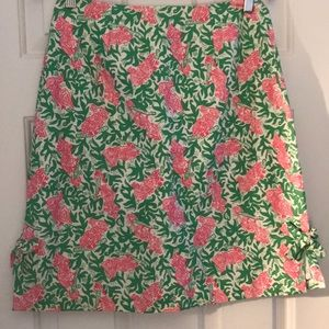 Classic Lilly Pulitzer cotton skirt size 8
